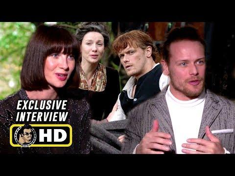 Sam Heughan & Caitriona Balfe Exclusive Interview for OUTLANDER: SEASON 4