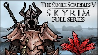 Mix - The Senile Scribbles: Skyrim Parody - FULL SERIES