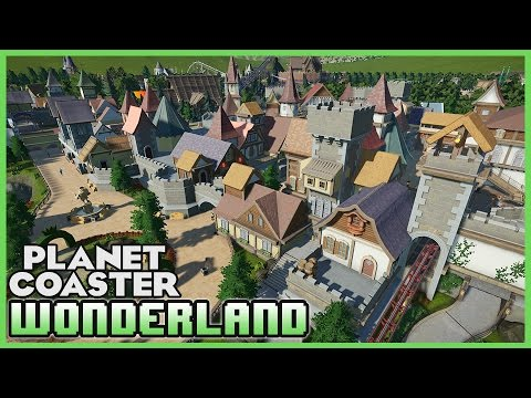 BEST FANTASY PARK EVER?! Wonderland! Park Spotlight 12 #PlanetCoaster