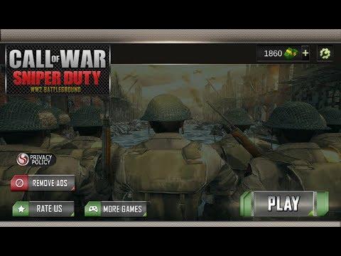 Call For War Sniper Duty WW2 Battleground Gameplay Обзор Первый взгляд Летсплей (Android,APK)