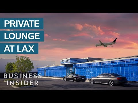 Inside America's First Private Terminal For Millionaires