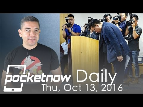 Samsung President apologizes for Galaxy Note 7, Google Watch & more - Pocketnow Daily
