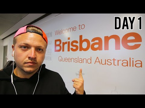 ARRIVING IN BRISBANE, AUSTRALIA - DAY 1