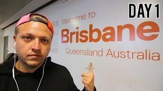 ARRIVING IN BRISBANE, AUSTRALIA - DAY 1