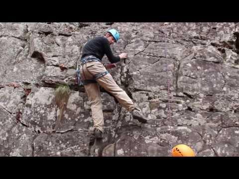 Rock Climbing Basics Footwork