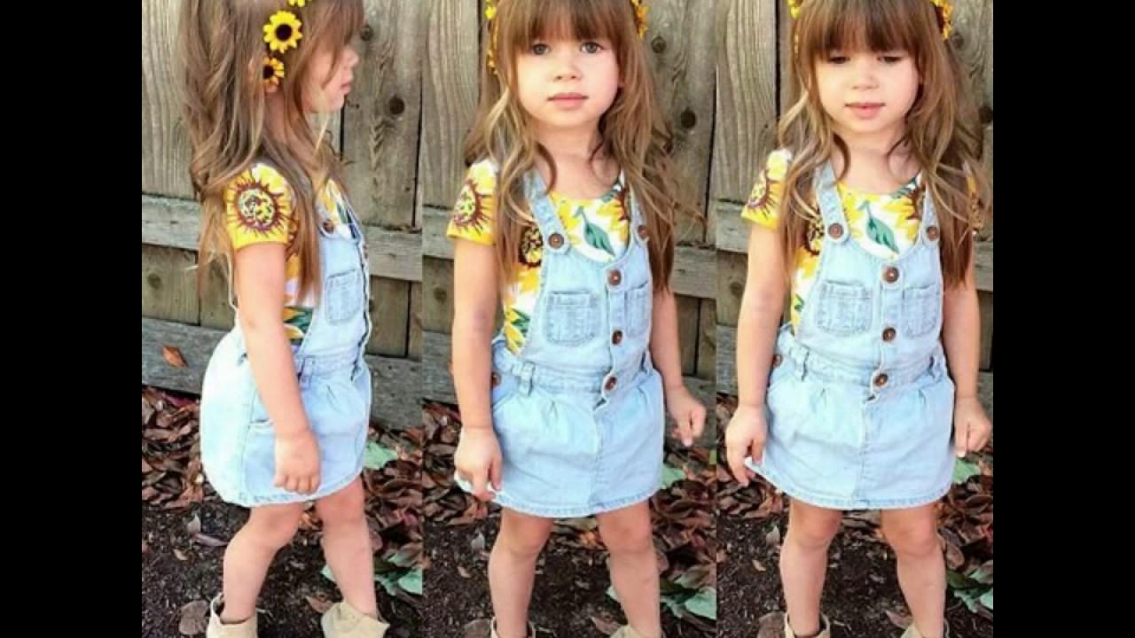 453f1b2836136 جديد ملابس اطفال جديدة لصيف والعيد 2018 - YouTube