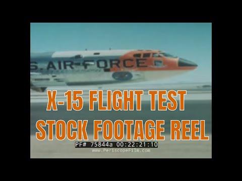X 15 Crash 15 FLIGHT TEST STOCK FOOTAGE REEL 75844a - YouTube
