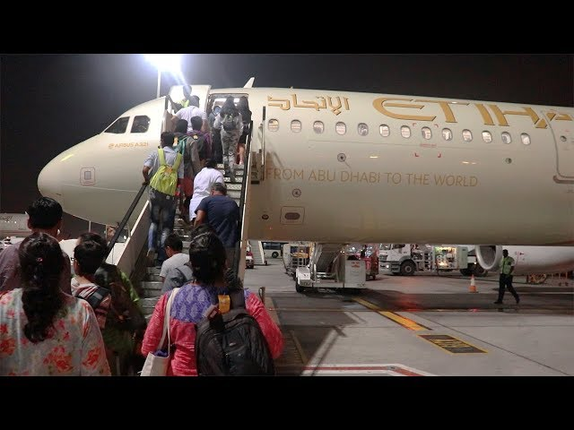 TRIP REPORT   ETIHAD AIRWAYS ECONOMY CLASS   EY 228 ABU DHABI TO DELHI   AIRBUS A321-200   NO IFE???