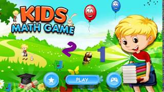 Kids Math Games Educational Math Quizzes for Kids