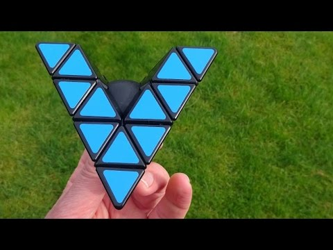 Tony Fisher's Open Master Pyraminx Puzzle (More Veey Than A V-Cube)