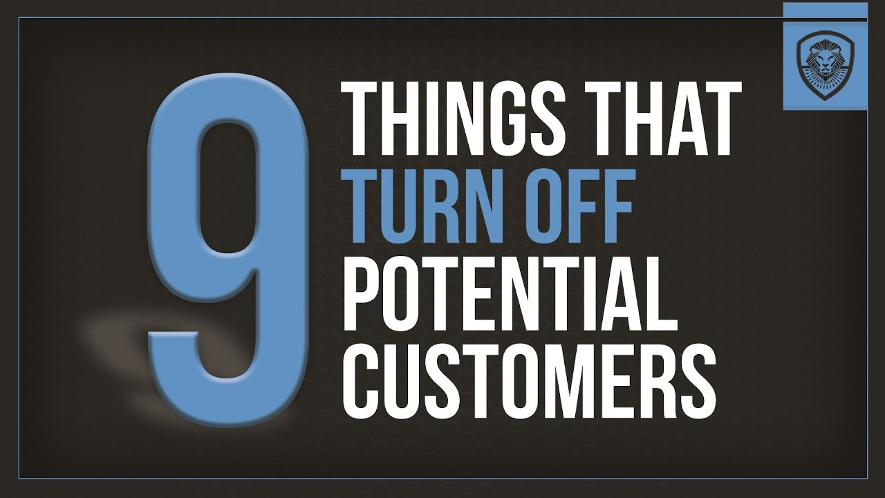 9 Things that Turn Off Potential Customers - Patrick Bet-David