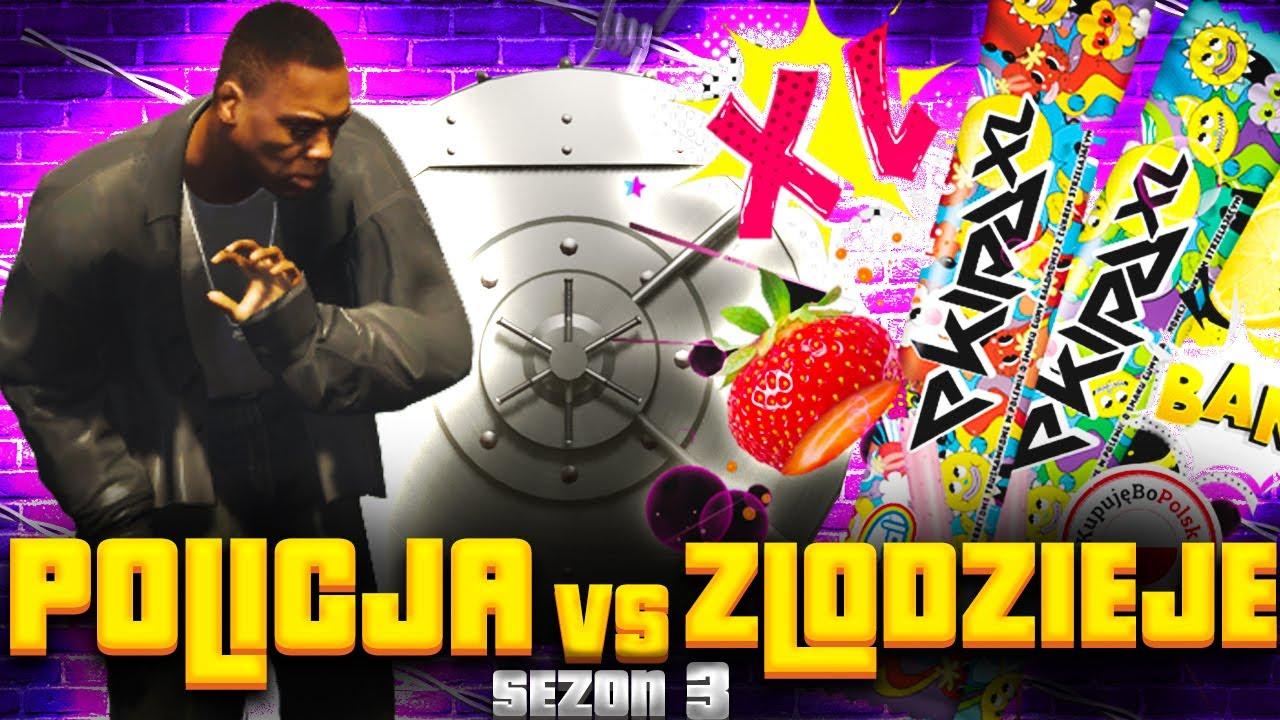 Download GTA V - POLICJA vs ZŁODZIEJE 3! - NAPAD NA LODZIARNIE EKIPY?!🍦🧊