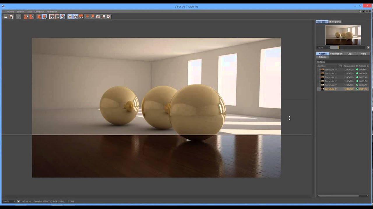 Iluminacion con vray interiores youtube for Iluminacion minimalista interiores