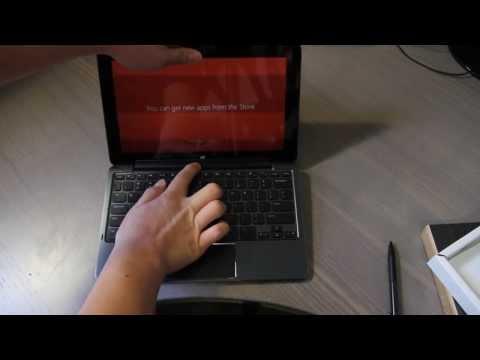 Dell Venue 11 Pro Tablet - Unboxing