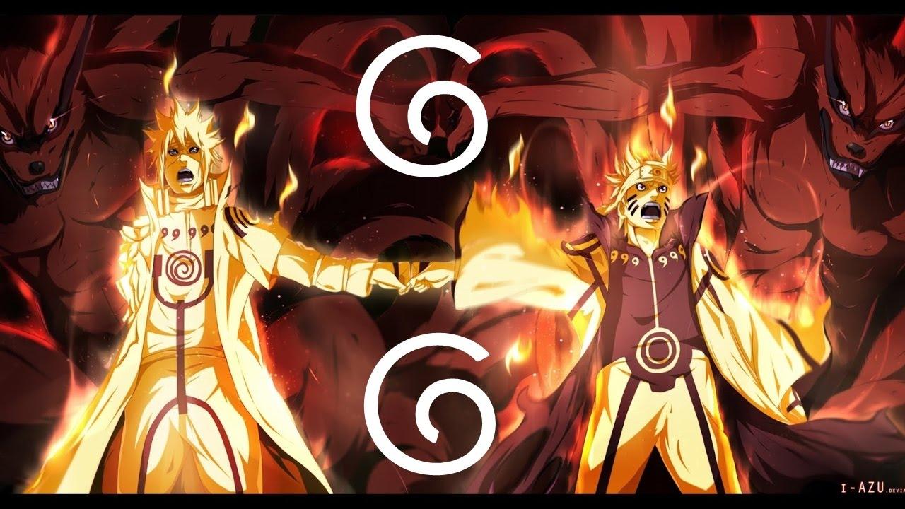 Naruto Nine Tails Wallpaper Hd Naruto Uzumaki Golden Quot Sage Mode Quot Amv Kurama Epic Kyuubi
