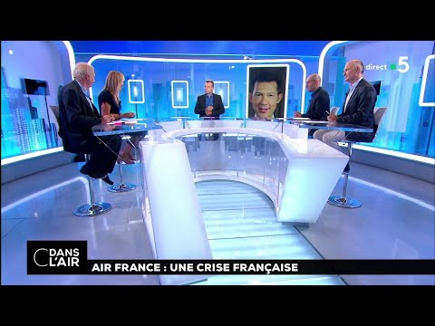 Air France : une crise française #cdanslair 17.08.2018