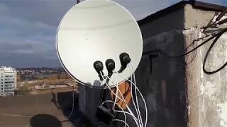 установка и настройка спутниковой антенны своими руками
