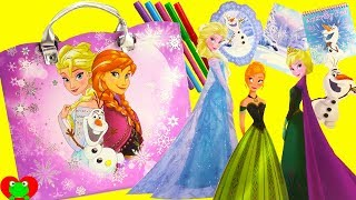 Disney Frozen Elsa and Anna Activity Tote Games, Stickers, Coloring Surprises