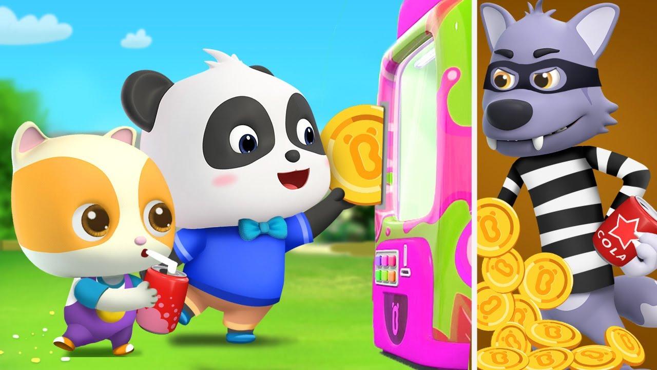 どれにしようか★ ジュースはんばいき | 赤ちゃんが喜ぶ歌 | 子供の歌 | 童謡 | アニメ | 動画 | ベビーバス| BabyBus