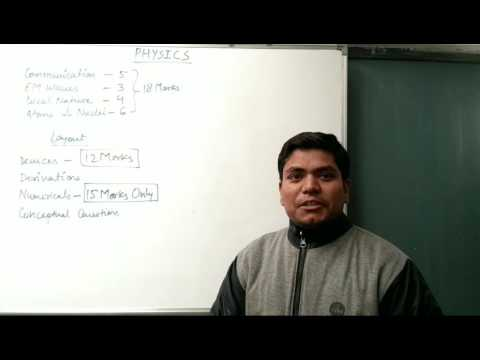 Physics made easy for CBSE XII BOARDS. Tips to score good in Physics paper. Assured Success!!