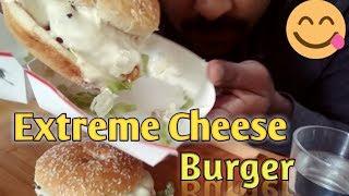 Eating Super Triple Cheesy Burger|Extreme Cheese Burger|Mukbang|Eating Time