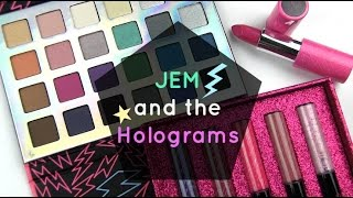Jem and the Holograms Collection: Live Swatches & Review