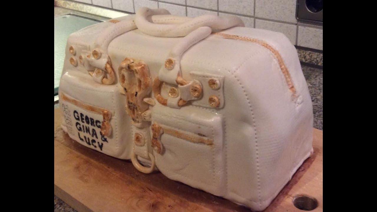Louis vuitton tasche kuchen anleitung