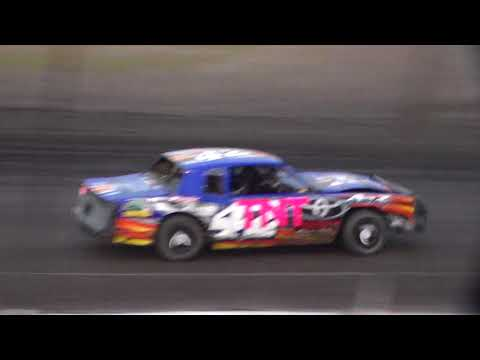 Stock Car Heat 2 @ Hancock County Speedway 08/12/17