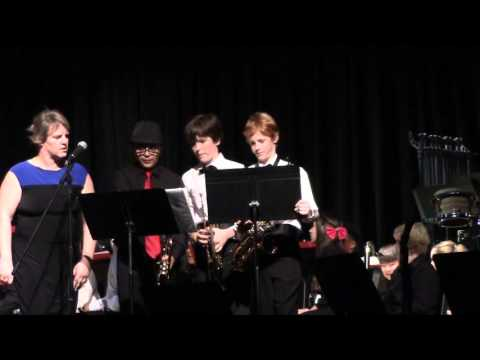 Chaminade Middle School Concert Band 2013 Winter Concert  2