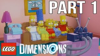 Video LEGO Dimensions Walkthrough Part 1 - The Simpsons! (Gameplay Let's Play) download MP3, 3GP, MP4, WEBM, AVI, FLV Juli 2018