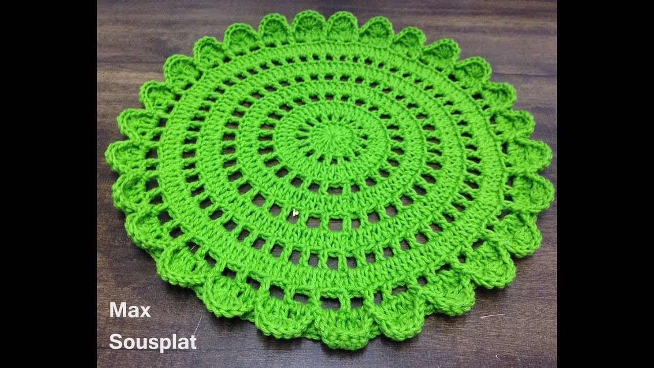 Crochet Beautiful Doily Step By Step Tutorial Crochet Ideas Crochet Flower Tutorial Free Crochet Doily Patterns Crochet Placemat Patterns
