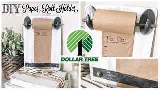 DIY Dollar Tree Paper Roll Holder
