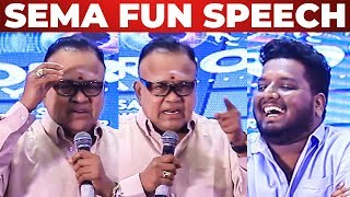 """நான் ரொம்ப Danger"" Radha Ravi Marana Fun Speech At Parithabangal Title Launch"