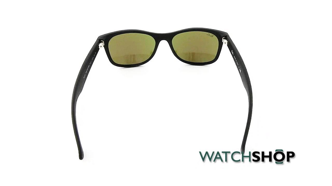 34f8ad74a55 Ray-Ban Men s New Wayfarer Classic Sunglasses (RB2132-622 17-55 ...
