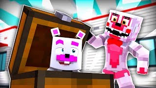 Funtime Freddy Hide and Seek With Mangle and Helpy ?! | Minecraft FNAF Roleplay