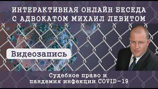 Видеозапись - Интерактивная онлайн беседа с адвокатом Михаил Левитом