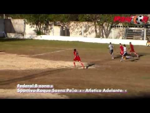 goles Sportivo Roque Saenz Peña vs Atletico Adelante federal B