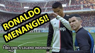 PEMBALASAN ADAM KE RONALDO | BECOME A LEGEND INDONESIA | PES 2019 (9)