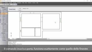 Inserire file DWG e disegnare i muri con TermiPlan