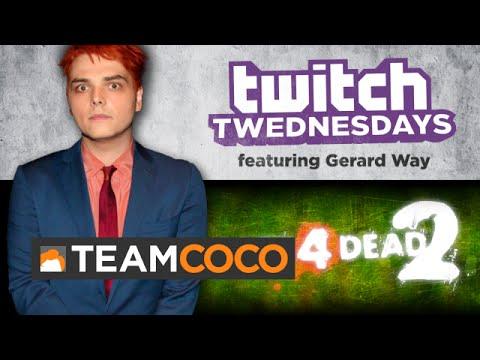 Twitch Twednesday Highlight 10/15/14 - Gerard Way  - CONAN on TBS