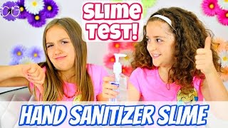 Hand Sanitizer Slime - 1 Ingredient Slime Test!