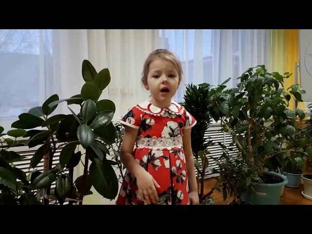 Изображение предпросмотра прочтения – АняДружнова читает произведение «Что такое доброта?» И.Полюшко