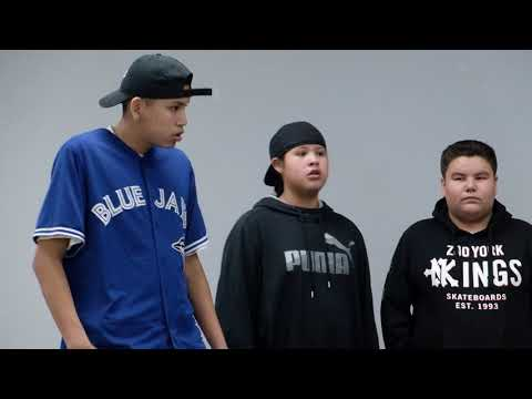 """Youth of Kawacatoose First Nation Perform """"Many Paths"""""""