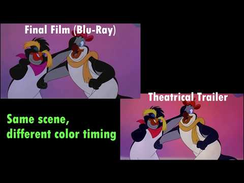 The Pebble and the Penguin - Comparisons (VHS/DVD/Blu-ray)