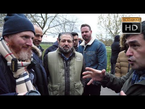 P1 - Smashed Theory! Hamza Vs Christian | Speakers Corner | Hyde Park