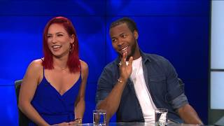 """Sharna Burgess & Josh Norman on What's New with """"Dancing with the Stars"""""""