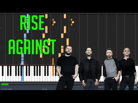 Prayer Of The Refugee - Rise Against - Synthesia Piano Playthrough + MIDI File