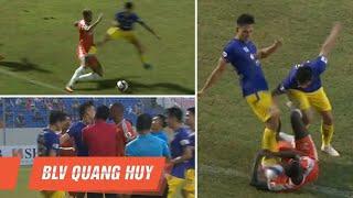 Hà Nội FC - SHB Đà Nẵng | Đánh nguội, phản lưới nhà và những pha bóng đáng quên | BLV Quang Huy