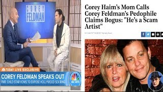 Corey Feldman vows to release names of Several Hollywood Execs+ Corey Haim's mom speaks out!