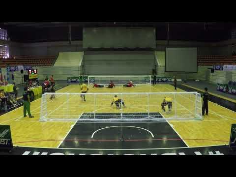 2017 Men's Goalball Asia Pacific Championships Semifinal Australia v China